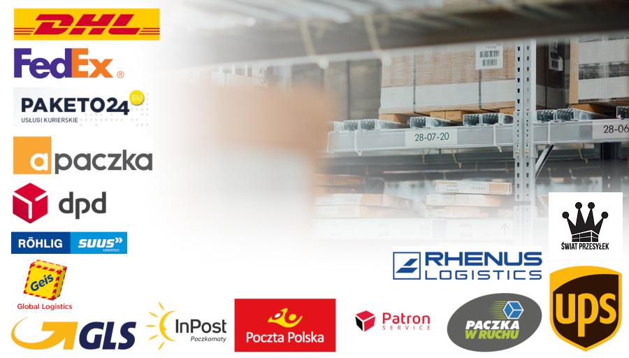 Dzięki ProstejPaczce przygotujesz automatyczne listy przewozowe dla ponad dwudziestu kurierów i Poczty Polskiej