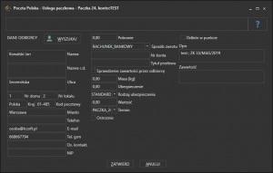 Elektroniczny Nadawca - Paczka 24
