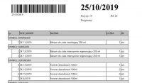 Lista magazynowa z rozbiciem towarów na dokumenty